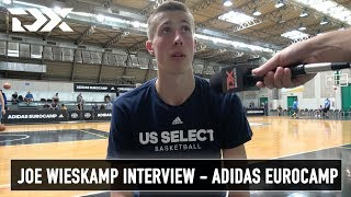 Joe Wieskamp Interview - Adidas Eurocamp