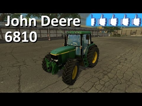 John Deere 6810 animated v1.0