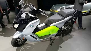 5. 2018 2019 BMW C Evolution High Performance Electric Scooter - at LA Auto Show 2017
