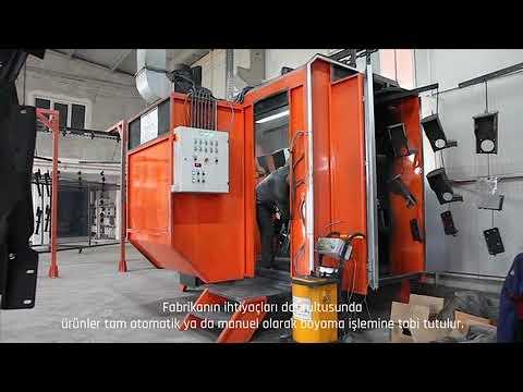Tusa Powder Coating - Complete Automatic Powder Coating Plant