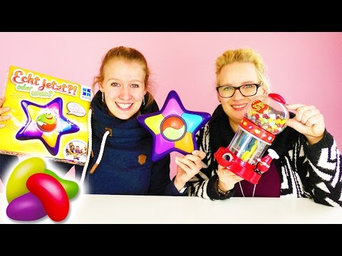 ECHT JETZT?! ODER WAS? Wie schlau sind EVA & KATHI??? Lustiges Quizspiel mit Jelly Beans