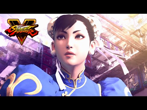 Street Fighter V: Full Length CG Trailer