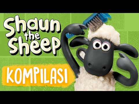 Shaun the Sheep   Full Episodes Compilation 9-12   Season 5   Funny Cartoons For Kids