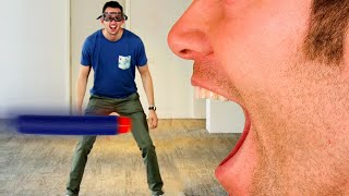 Three people attempt to stop Nerf darts with nothing but their mouth.Credits: https://www.buzzfeed.com/bfmp/videos/21082Check out more awesome videos at BuzzFeedBlue!https://bit.ly/YTbuzzfeedvideohttps://bit.ly/YTbuzzfeedblue1https://bit.ly/YTbuzzfeedvioletGET MORE BUZZFEED:https://www.buzzfeed.comhttps://www.buzzfeed.com/videoshttps://www.youtube.com/buzzfeedvideohttps://www.youtube.com/boldlyhttps://www.youtube.com/buzzfeedbluehttps://www.youtube.com/buzzfeedviolethttps://www.youtube.com/perolikehttps://www.youtube.com/ladylikeBuzzFeedBlueSports, video games, Unsolved & more epic daily videos!MUSICLicensed via Audio NetworkSFX Provided By AudioBlocks(https://www.audioblocks.com)STILLSman with open mouthKemter/Getty Images