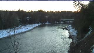 Glacer - Middle Fork Flathead River, December 2015 Time Lapse