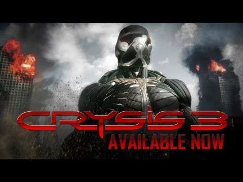 """Crysis 3 """"Suit Up"""" Launch Trailer Shows New Gameplay"""