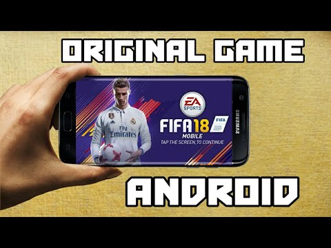 FIFA 18 Original Game For Android Apk+Data+Obb | In Hindi With Gameplay