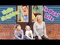 Download Video Hello Neighbor in Real Life in the Frozen Dark! | DavidsTV