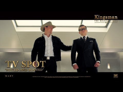 Kingsman: The Golden Circle ['Suited And Booted' TV Spot in HD (1080p)]