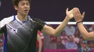Video Indonesia v Korea - Badminton Doubles Quarterfinals | London 2012 Olympics MP3, 3GP, MP4, WEBM, AVI, FLV September 2018