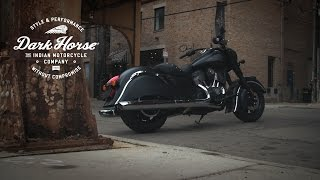 9. A Closer Look at the 2016 Indian Chief Dark Horse