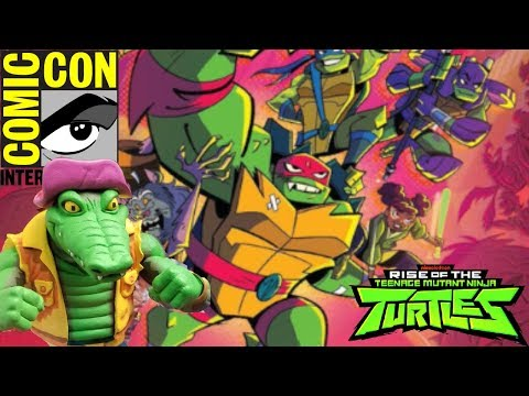 Rise of The TMNT, NEW Figures & MORE! [Comic Con 2018 News]