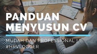Download Video CARA MENYUSUN CV DENGAN BENAR (2019) - HRVlogger MP3 3GP MP4