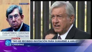 Entrevista al Ing. Cuauhtémoc Cárdenas sobre la unión de las izquierdas