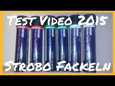 Strobo Fackeln - Test Videos 2015
