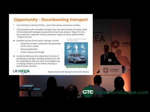 UK Hydrogen and Fuel Cell Association Presentation