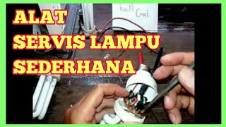Video Cara mudah membuat alat servis lampu MP3, 3GP, MP4, WEBM, AVI, FLV November 2018