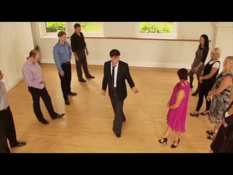 Learn to dance in 10 minutes - easy partner dance basics