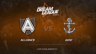 Alliance vs 4Anchors, game 1