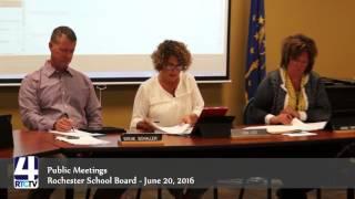 Public Meeting - Rochester School Board