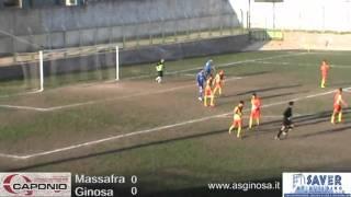 Preview video <strong>MASSAFRA-GINOSA 0-0 Il Ginosa tiene testa al Massafra conquistando un punto meritato</strong>