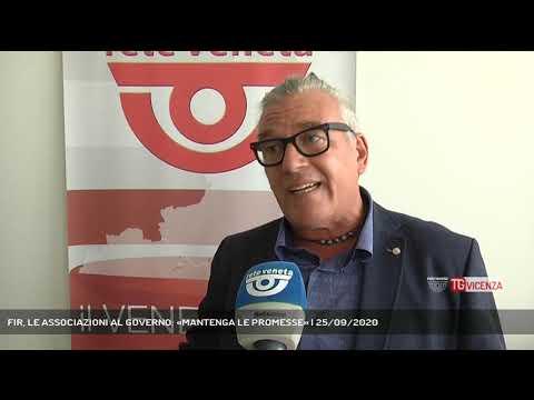 FIR, LE ASSOCIAZIONI AL GOVERNO: «MANTENGA LE PROMESSE» | 25/09/2020