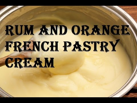 French Pastry Cream Step By Step Video Recipe (crème Patissiere)
