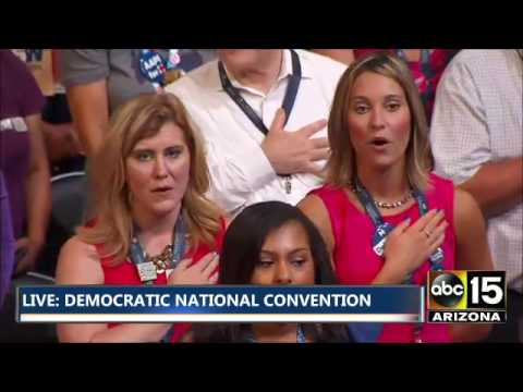 FULL: National Anthem - Star Swain - Democratic National Convention