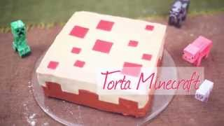 Video paso a paso: Torta Minecraft