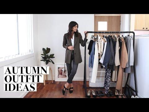 AUTUMN OUTFIT IDEAS - Minimal Style | Mademoiselle видео