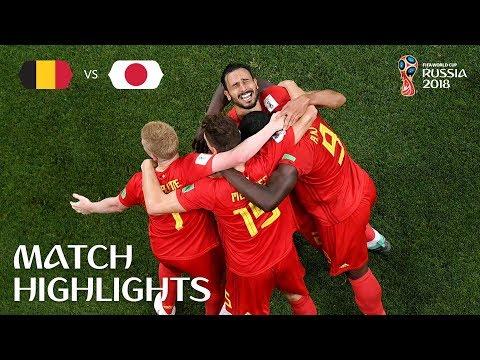 Belgium v Japan - 2018 FIFA World Cup Russia™ - Match 54