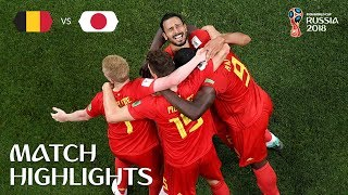 Video Belgium v Japan - 2018 FIFA World Cup Russia™ - Match 54 MP3, 3GP, MP4, WEBM, AVI, FLV September 2018