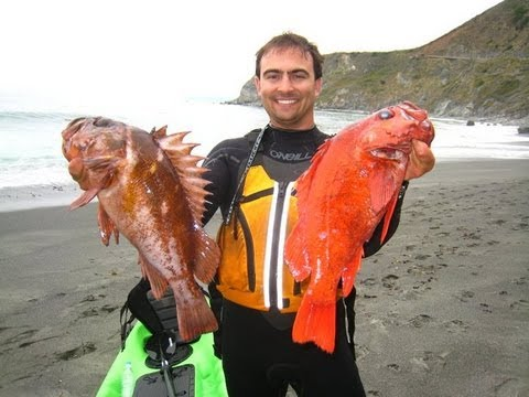 Kayaking for California Rockfish – Aug 2011