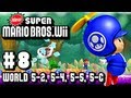 New Super Mario Bros Wii - Part 8 - World 5-2, 5-4, 5-5, 5-Castle