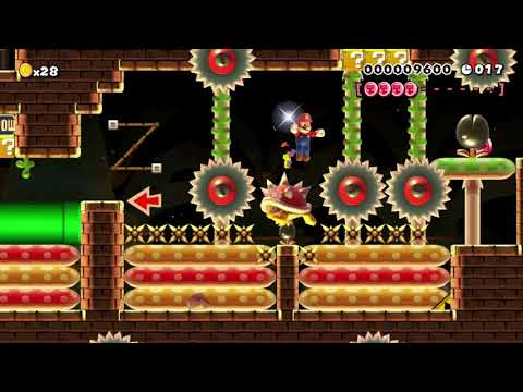 Welcome to another Speedrun. ♥♡♥: Clearing Super Mario Maker's Super Expert Levels! (видео)