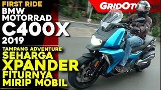 10. BMW C400X 2019 l First Ride Review l GridOto