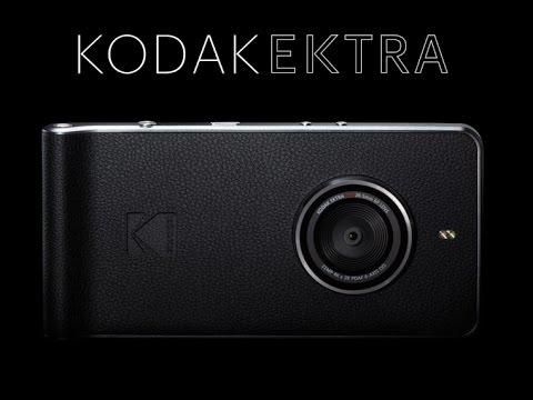 那些年所有人都超愛的「柯達」推出超猛智慧型手機,就算是單眼相機也完全被比下去了!
