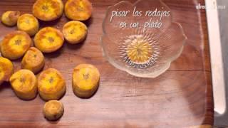 Tostones (chips de plátanos)