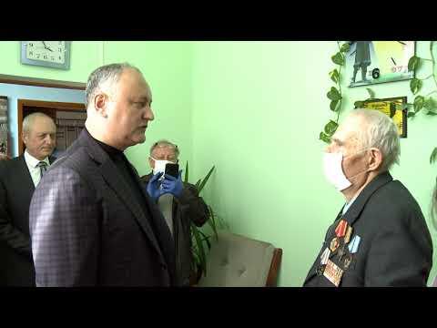 Игорь Додон посетил Единецкий район