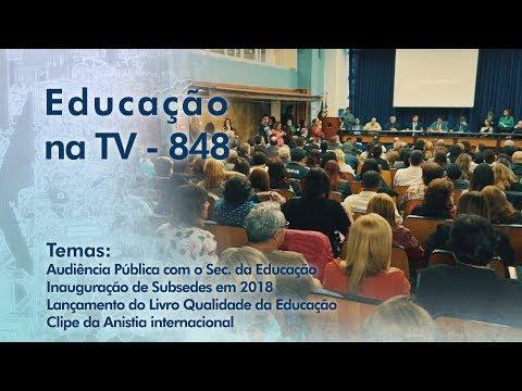 Audiência Pública com o Secretário da Educação