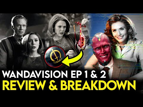WandaVision REVIEW - Episode 1 & 2 Breakdown, Theories & More!
