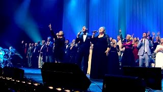 """Recorded live, """"Peacespeaker"""" is from our 45th Anniversary Reunion Concert on July, 2016.With over 3 hours of memorable music, a bonus section featuring a special tribute to Max and Lucy, plus behind-the-scenes footage, we are very excited about the release of our 45th Anniversary Reunion Concert! This song is not available anywhere else.We've captured that unprecedented and unforgettable night of music, praise and celebration on Blu-ray, DVD and CD.Relive that awe-inspiring evening with over 130 Heritage Singers on stage!The 45th Reunion Concert CD (music only) features 37 songs - including 6 medleys.The Blu-ray DVD, and the regular DVD are the best we've produced! Call us: (530) 622-9369 or visit our web store: http://heritagesingers.com/store. Our office hours are Monday -Thursday, 8:30 AM - 5 PM (PST)."""