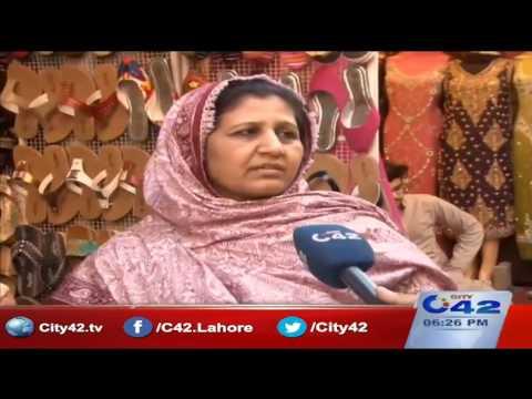 رپورٹرز ڈائری (لاہور میں بازار کے وسط میں تجاوزات) ،27دسمبر 2016