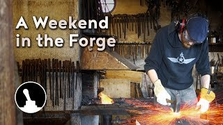 This is a bit of a different video from most of the things I do. Instead of showing you how to do a project, or having you follow along as I build something wonderful, this is more of a tag along during a weekend long blacksmithing course I took recently.Follow and like Switch & Lever on:Facebook: https://www.facebook.com/SwitchAndLeverInstagram: http://instagram.com/switchandleverTwitter: https://twitter.com/switchandleverPinterest: http://www.pinterest.com/switchandlever/Linkedin: http://www.linkedin.com/profile/view?id=174927629And check out the Switch & Lever online store at:http://www.switchandlever.com/store/-------Music:Know No No-Nos by Doctor TurtleCC BY 4.0
