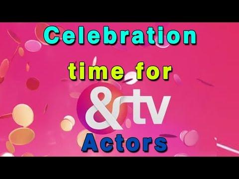 Celebration time for &TV actors