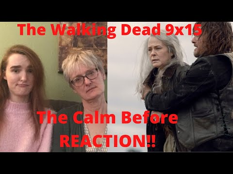 "The Walking Dead Season 9 Episode 15 ""The Calm Before"" REACTION!!"