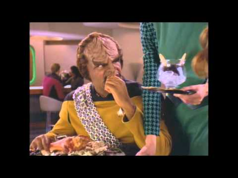 The Table Manners of Lieutenant Worf
