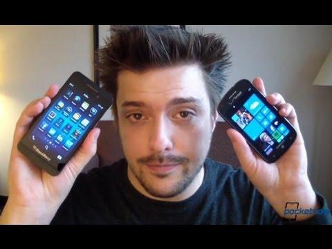 BlackBerry 10 vs Windows Phone 8