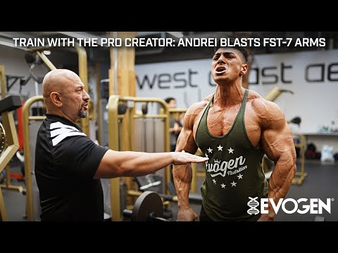 Train With The Pro Creator: Andrei Blasts FST-7 Arms With Hany