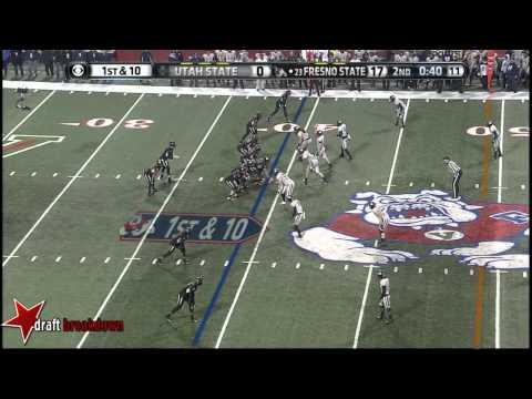 Derek Carr vs Utah State 2013 (MWC Championship) video.